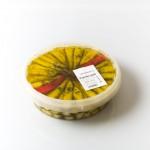 Paprika Gelb mit Käse   Artikelnummer4250122401018 Verpackungseinheit1,9 kg